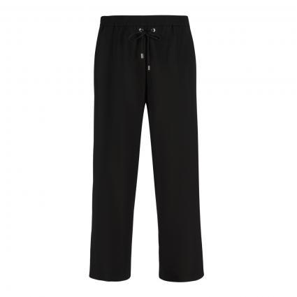 Weite Hose 'Fly' mit elastischem Bund schwarz (090 black) | 32