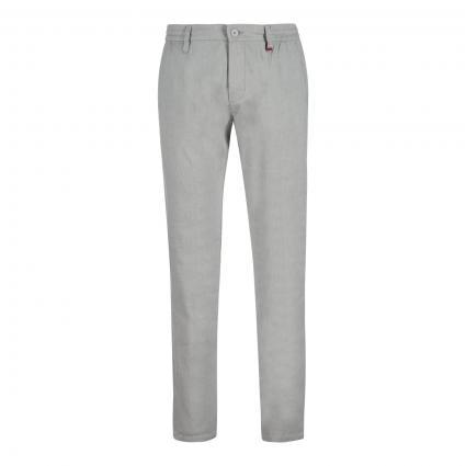 Leinenhose 'Lennox Sport' mit Tunnelzug grau (042 platinum grey) | 36 | 32