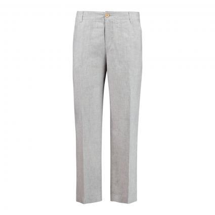 Weite Hose 'Nora' silber (042M platinum grey m) | 40
