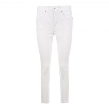 7/8 Jeans 'Angela' weiss (D010 white denim) | 42 | 26