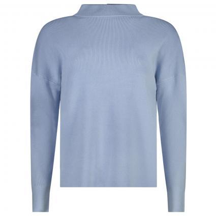 Pullover mit Stehkragen  blau (5337 LIGHT BLUE) | 44