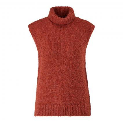 Pullunder aus softem Wollmix orange (2900 cinnamon) | M