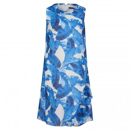 Kleid mit All-Over Print weiss (01C9 front prin) | 34