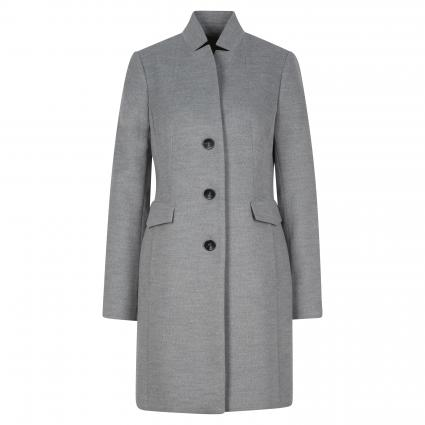 Mantel mit Reverskragen grau (9428 Light Grey) | 44