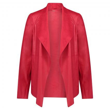 Leichte Jacke in Leder-Optik rot (3185 red) | L