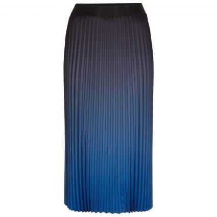 Plisseerock in Ombré-Optik blau (55D1 blue place) | 44