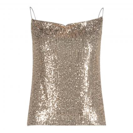 Pailletten-Top gold (0031 ice gold) | 40