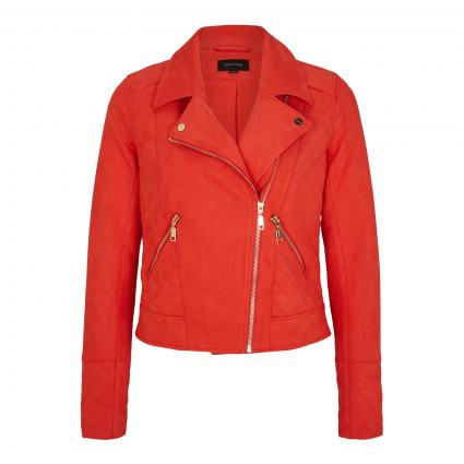 Jacke im Wildleder-Look rot (3206 red) | 36