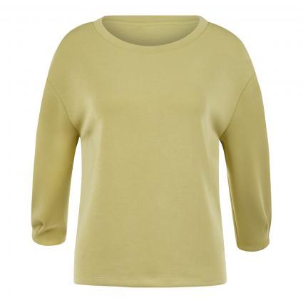 Sweatshirt mit 3/4 Arm grün (7180 spring gre) | 34