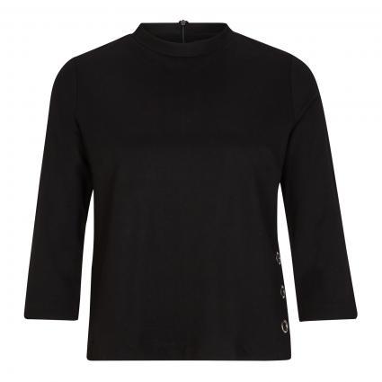 Shirt mit 3/4 Arm schwarz (9999 black) | 36