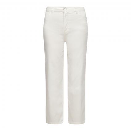 Weite Hose im 5-Pocket Style  weiss (0120 white) | 42 | 32