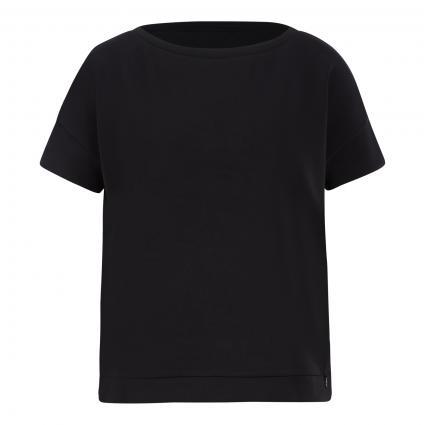 Sweatshirt mit Kurzarm schwarz (9999 black) | 40