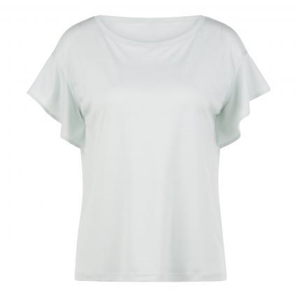 T-Shirt mit Rundhalsausschnitt grün (6001 mint green) | 44