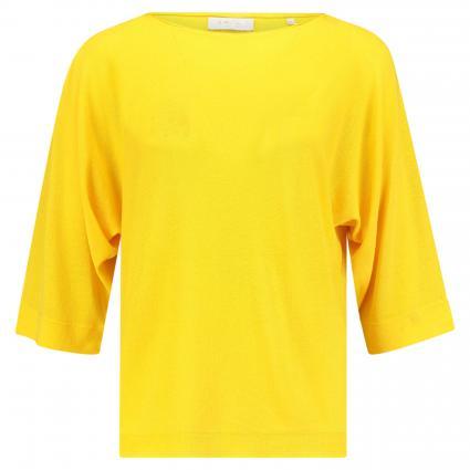 Strickshirt mit 3/4 Ärmel gold (337 spring gold)   M