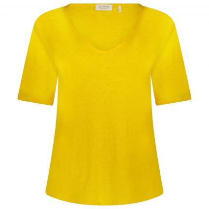 T-Shirt aus Heavy Jersey gold (337 spring gold) | XL