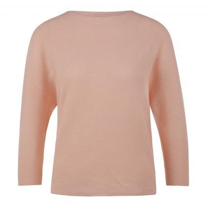 Pullover aus Baumwolle  orange (538 peach) | L