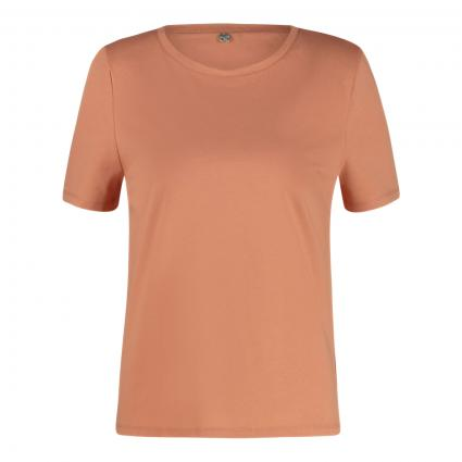 T-Shirt mit Schulterpolster orange (350 summer orange) | S