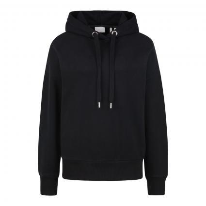 Hoodie 'Felpa' schwarz (890 black) | S