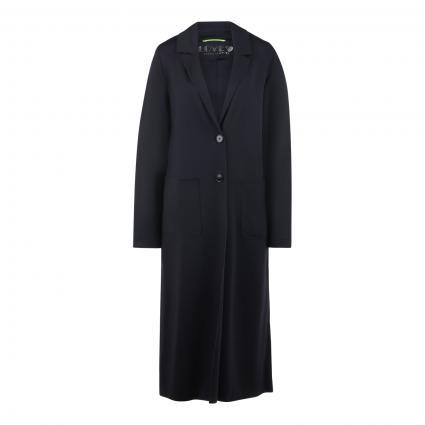 Mantel mit Taschen schwarz (0100 SCHWARZ)   46