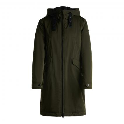 Jacke mit Kapuze grün (0035 GRUEN) | 42