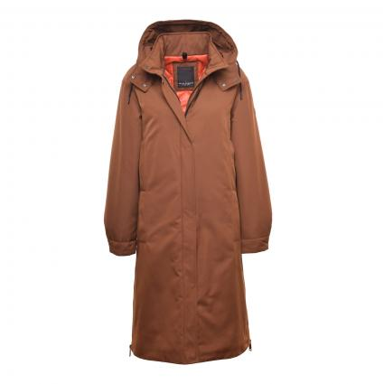 Mantel mit abnehmbarer Kapuze beige (0016 CAMEL) | 38