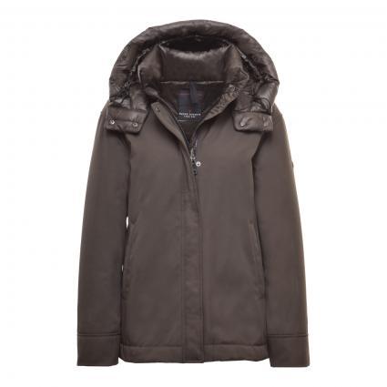 Jacke mit abnehmbarer Kapuze grün (0035 GRUEN) | 46