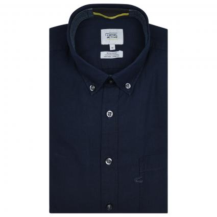 Regular-Fit Hemd  marine (47 night blue) | XL