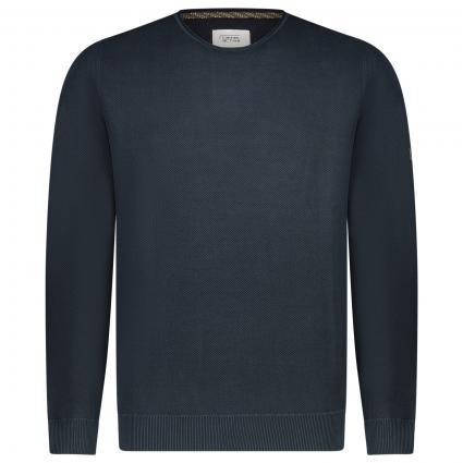 Pullover mit Rundhalsausschnitt  marine (49 dark blue)   L