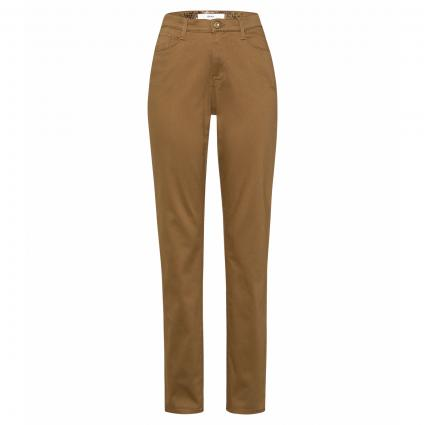 Slim-Fit Jeans 'Mary' taupe (55 CLEAN WALNUT) | 38