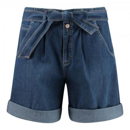 Relaxed-Fit Bermuda 'Mel' in Jeans-Optik blau (25 USED REGULAR BLUE) | 42