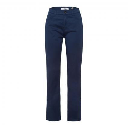 Slim-Fit Hose 'Carola' mit Zierpailletten blau (23 INDIGO) | 17