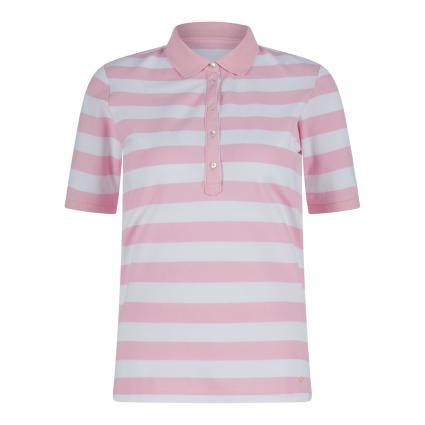 Poloshirt 'Cleo' mit Streifenmuster rose (88 ROSE) | 42