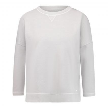 Langarmshirt 'Bailee' mit Rundhalsausschnitt  grau (08 grey) | 36