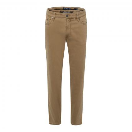Regular-Fit Jeans 'Luke'  beige (55 BEIGE)   295   U