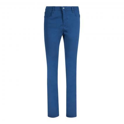 5-Pocket Hose 'Carola' blau (26 SKANDI BLUE) | 34