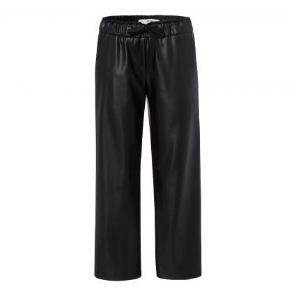Hose 'Maine' mit elastischem Bund schwarz (02 BLACK)   44