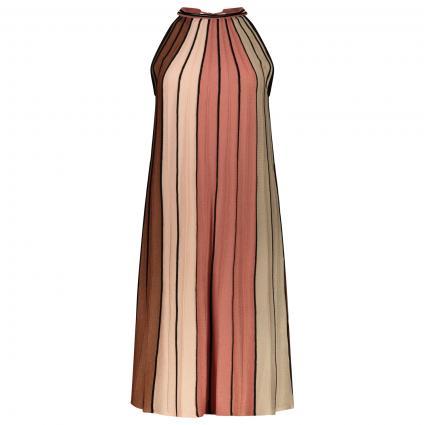 Ärmelloses Kleid mit Colour-Blocking  braun (87X3 multicolou) | 42