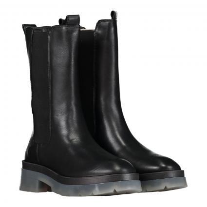 Chelsea Boots aus Leder schwarz (999 black translucen) | 39