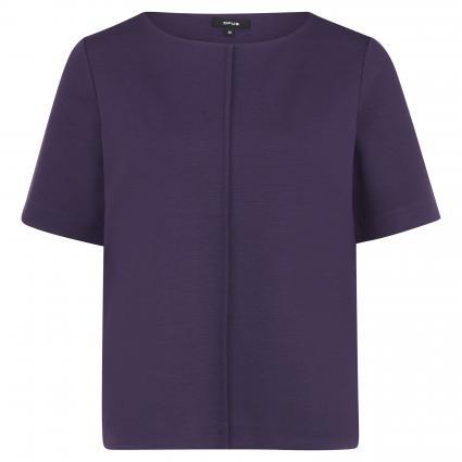 Kurzärmeliges Sweatshirt 'Ganta' lila (4091 dark violet) | 38