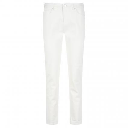 Boyfriend-Fit Jeans 'Lucy' ecru (7399 offwhite denim) | 40