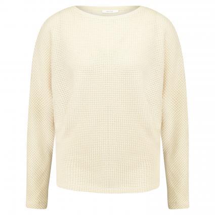 Sweatshirt 'Gifuna' in Häkeloptik beige (2080 light nature)   44