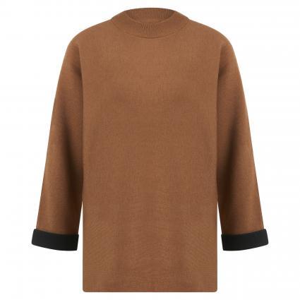 Pullover 'Pluma' camel (2073 peanut)   40