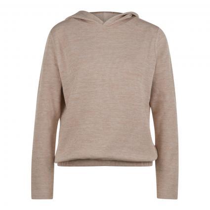 Sweatshirt 'Gabu' mit Kapuze beige (2088 macadamia) | 38