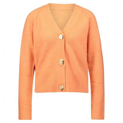 Strickjacke 'Disona' orange (4108 orange peel) | 36