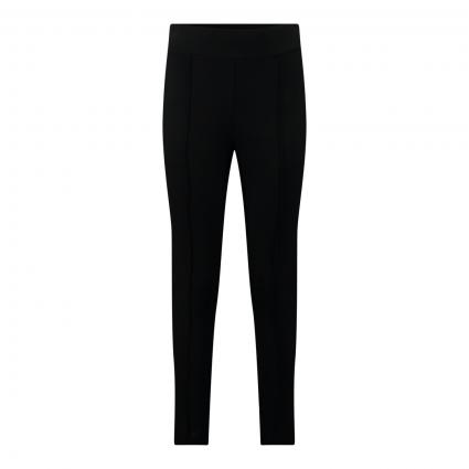 Jerseyhose 'Elika' mit Zierbiese schwarz (900 black)   34