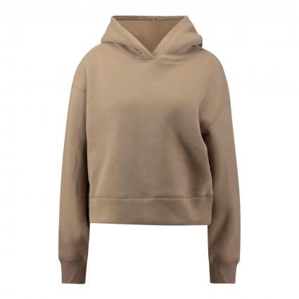 Sweatshirt 'Gart' mit Kapuze  beige (2091 maple) | 36