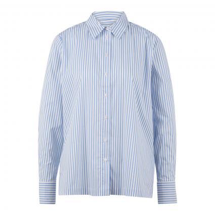 Bluse 'Feorgia' mit Streifenmuster blau (6081 blue mood) | 40