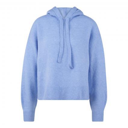 Strickpullover 'Pistona' mit Kapuze blau (6081 blue mood)   38