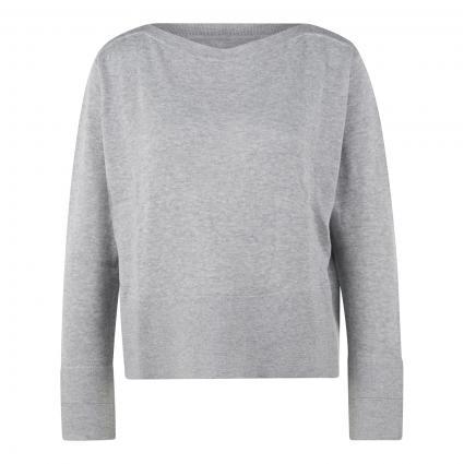 Leichter Pullover 'Peonie' grau (8057 iron grey melan) | 42