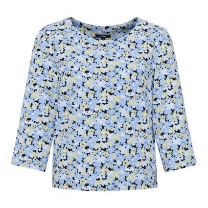 Blusenshirt 'Falesha Garden' blau (6081 blue mood) | 42